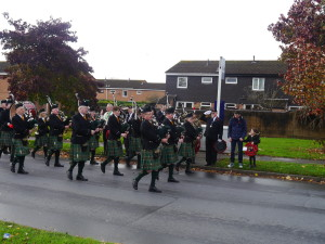 Playing for the Perry Common RBL
