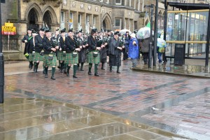 Huddersfield St Patricks Day Parade 2015